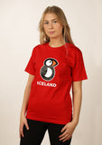 Women's Iceland T-shirt Puffin