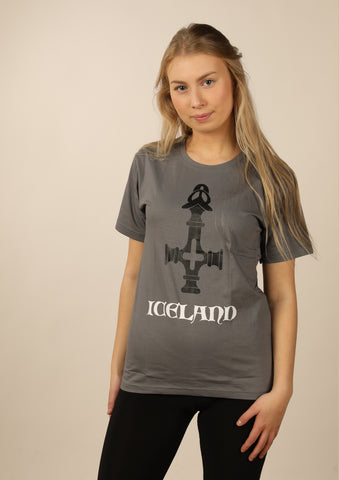 Women's Iceland t-shirt Viking Hammer