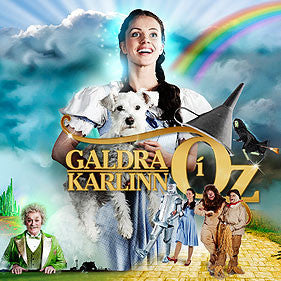 Galdrakarlinn í Oz - The Wizard of Oz (CD) - CD - Shop Icelandic Products