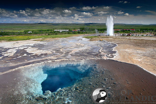 Geysir Eruption - Fine Print - Shop Icelandic Products