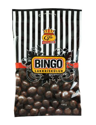 Icelandic sweaters and products - Goa Bingo Liquorice Balls (150gr) Candy - Shopicelandic.com