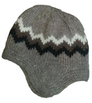 Wool Hat with Earflaps - Brown - Wool Accessories - Shop Icelandic Products