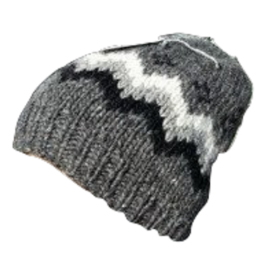 Traditional Wool Hat - Grey - Wool Accessories - Shop Icelandic Products