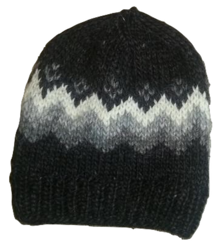 Icelandic sweaters and products - Traditional Wool Hat - Black Wool Accessories - Shopicelandic.com