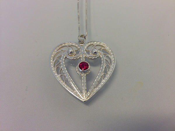 Heart - Filigree - Jewelry - Shop Icelandic Products