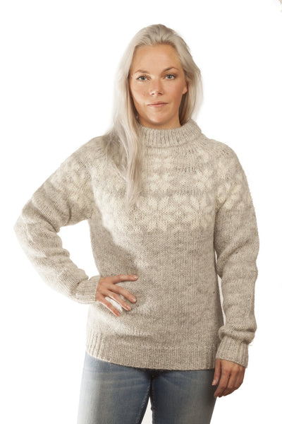 Fönn Wool Sweater Grey - Wool Sweaters - Shop Icelandic Products
