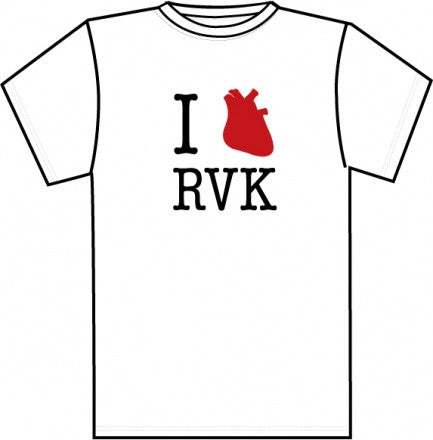 I Love Reykjavik - Mens T-shirt - Clothing - Shop Icelandic Products