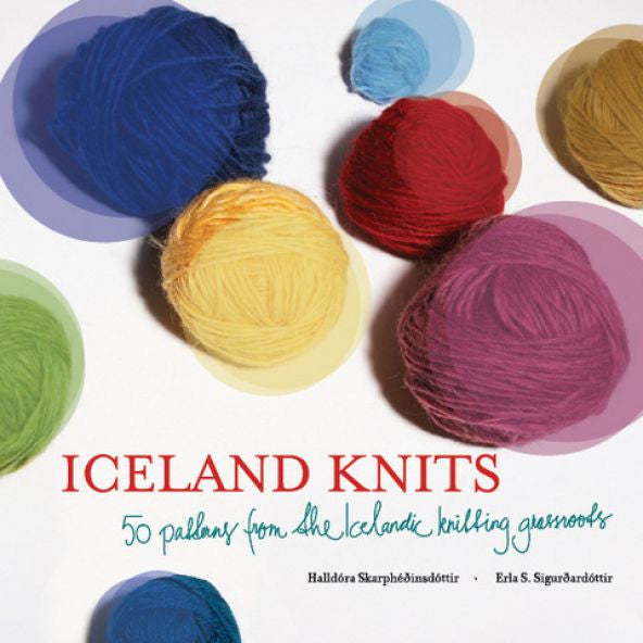 Iceland Knits - 50 Patterns - Book - Shop Icelandic Products