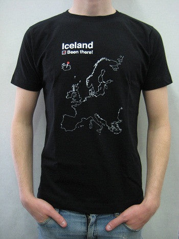 Iceland Been There - Mens T-shirt - Clothing - Shop Icelandic Products