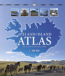 Icelandic sweaters and products - Iceland/Island Atlas 1:200 000 Maps - Shopicelandic.com