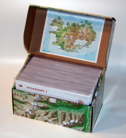 Iceland Topo Maps in a box (1:100.000) - Maps - Shop Icelandic Products