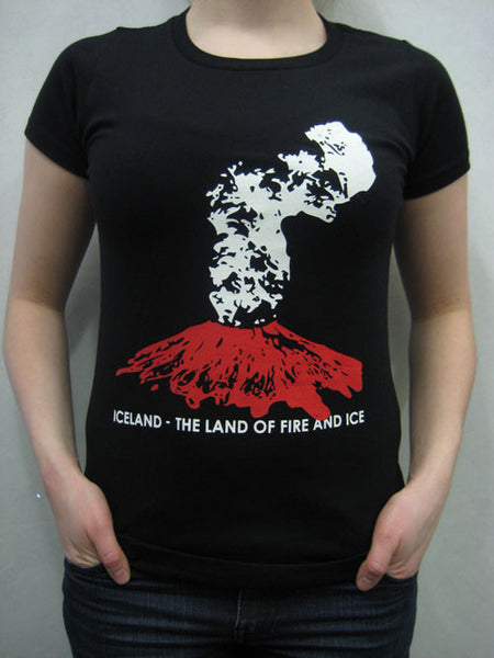 Iceland - The Land of Fire and Ice - Female T-shirt - Clothing - Shop Icelandic Products