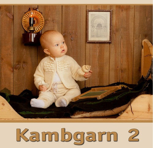 Kambgarn 2 - Pattern book - Book - Shop Icelandic Products
