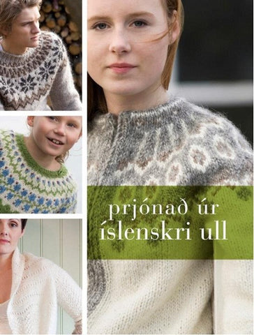 Icelandic sweaters and products - Knitting with Icelandic Wool Book - Shopicelandic.com