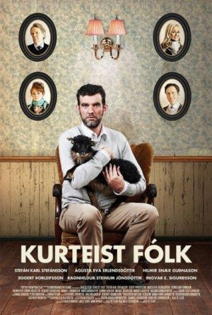 Icelandic sweaters and products - Kurteist fólk (DVD) DVD - Shopicelandic.com