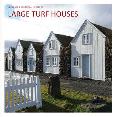Large Turf Houses - Book - Shop Icelandic Products
