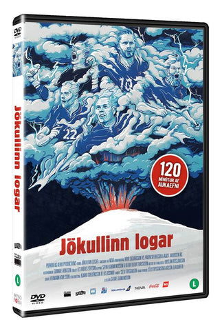 Jökullinn logar / Inside a Volcano (the rise of the Icelandic football) - DVD - Shop Icelandic Products - 1