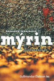 Mýrin - Audiobook (CD) - Book - Shop Icelandic Products