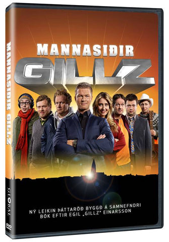 Mannasiðir Gillz (DVD) - DVD - Shop Icelandic Products