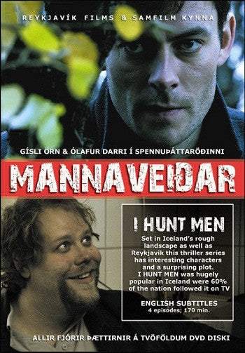 Mannaveiðar - I Hunt Men (DVD) - DVD - Shop Icelandic Products
