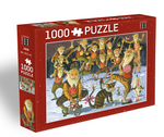 Icelandic sweaters and products - Yule Lads Circus - Jigsaw Puzzle (1000pcs) Puzzle - Shopicelandic.com