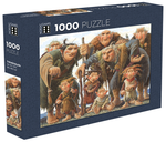 Icelandic sweaters and products - Troll family - Jigsaw Puzzle (1000pcs) Puzzle - Shopicelandic.com