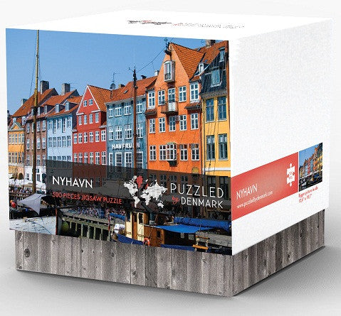 Puzzled by Denmark - Nyhavn - Puzzle - Shop Icelandic Products