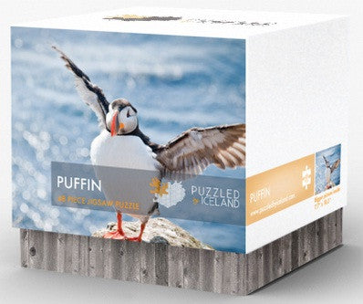 Puzzled by Iceland - Puffin - Puzzle - Shop Icelandic Products