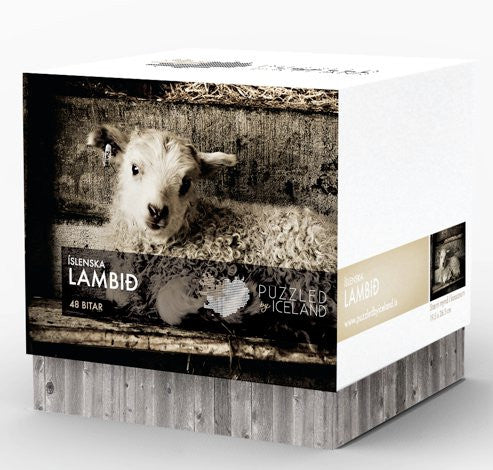 Puzzled by Iceland - The Icelandic Lamb - Puzzle - Shop Icelandic Products