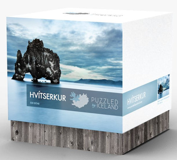 Puzzled by Iceland - Hvítserkur - Puzzle - Shop Icelandic Products
