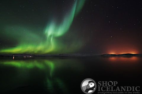 Reflected Aurora - Fine Print - Shop Icelandic Products
