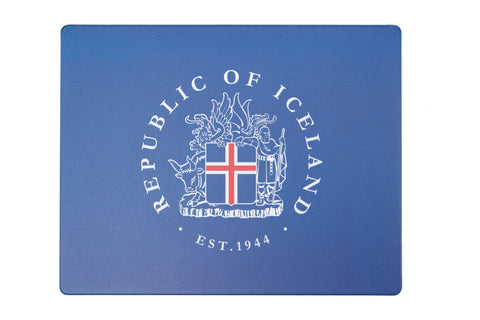 Icelandic sweaters and products - Mousemat - Coat of Arms Mousemat - Shopicelandic.com