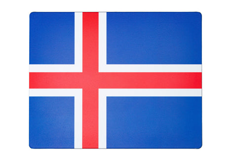 Mousemat - Iceland Flag