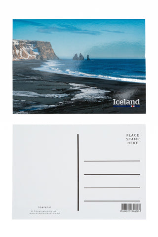 Icelandic sweaters and products - Postcard - Reynisfjara Postcards - Shopicelandic.com