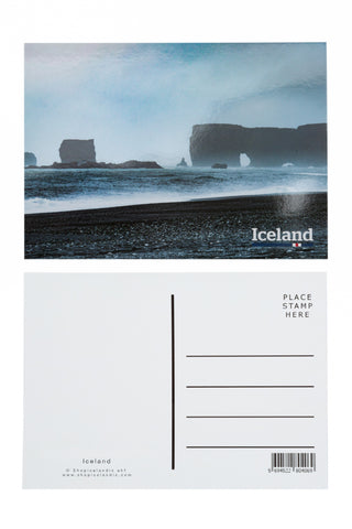 Icelandic sweaters and products - Postcard - Dyrholey Postcards - Shopicelandic.com