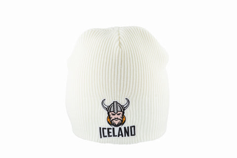 Icelandic sweaters and products - Knitted Beanie - Viking Hat - Shopicelandic.com