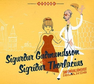 Sigurdur Gudmundsson, Sigrídur Thorlasius og Sinfó (CD) - CD - Shop Icelandic Products