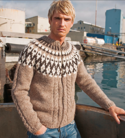 Icelandic sweaters and products - Stapi - knitting kit Wool Knitting Kit - Shopicelandic.com