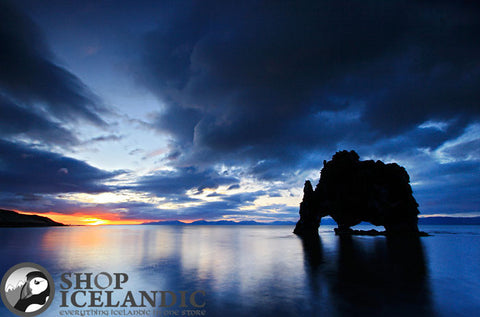 Sunset Observer - Fine Print - Shop Icelandic Products