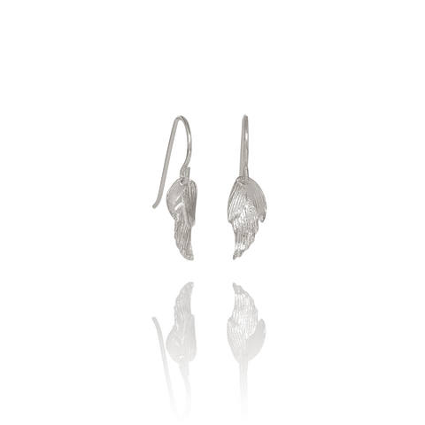 Aurum Swan Earrings Silver (Swan 113)