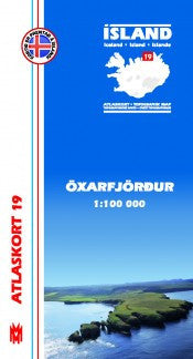 Topographic Map - Öxarfjordur - Maps - Shop Icelandic Products