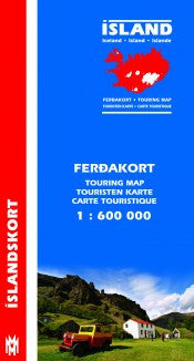 Touring Map Iceland - 1:600.000 - Maps - Shop Icelandic Products