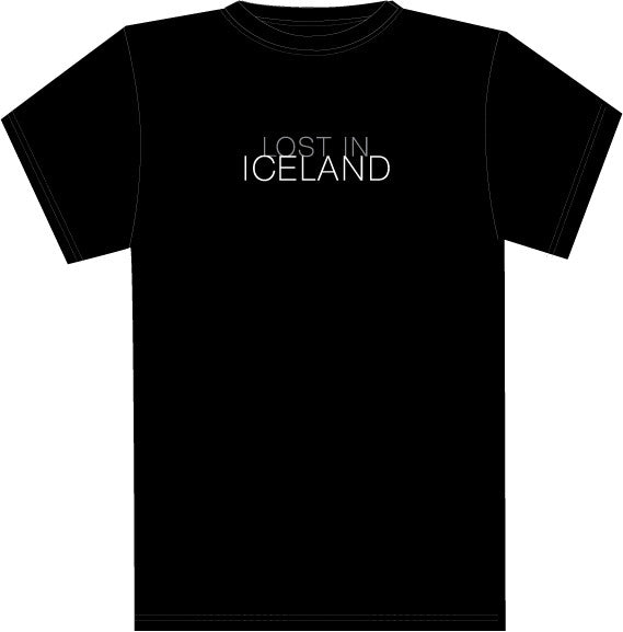 Lost in Iceland - Female T-shirt - Clothing - Shop Icelandic Products