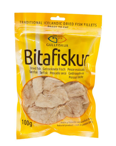 Icelandic sweaters and products - Icelandic Dried Fish Bites 100g Food - Shopicelandic.com