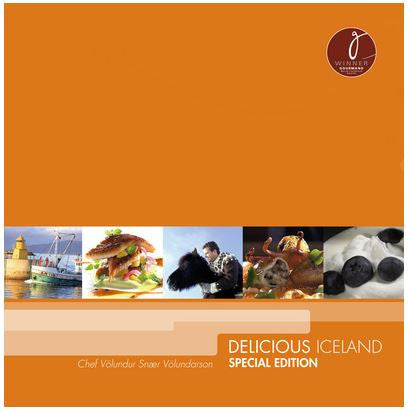 Icelandic Products Delicious Iceland - Special edition Book- ShopIcelandic