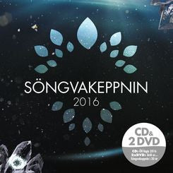 Icelandic sweaters and products - Söngvakeppni Sjónvarpsins 2016 (CD+2DVD) CD - Shopicelandic.com