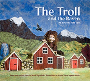 The Troll and the Raven - Book - Shop Icelandic Products