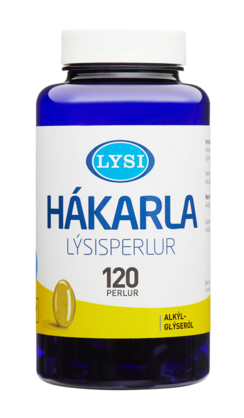 Shark Liver Oil Capsules (120pc) - Cod Liver Oil - Shop Icelandic Products