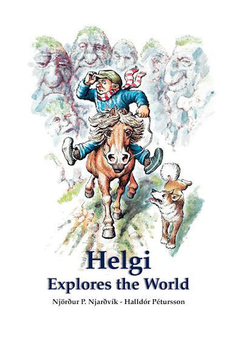 Icelandic sweaters and products - Helgi Explores the World Book - Shopicelandic.com
