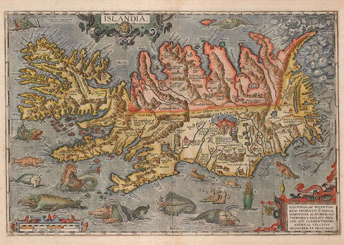Islandia 1590 - Jigsaw Puzzle (1000pcs) - Puzzle - Shop Icelandic Products